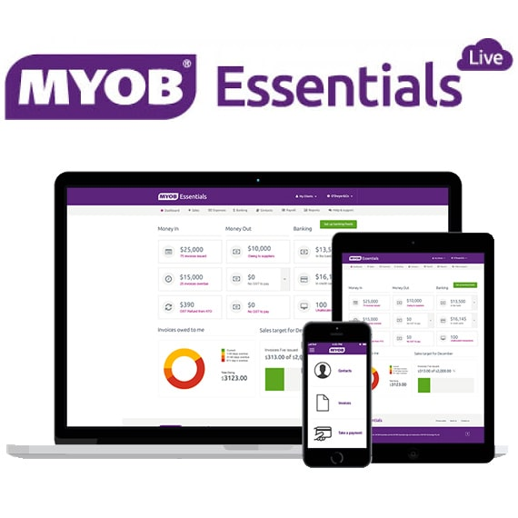 MYOB – Essentials Live and AccountRight Live