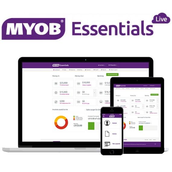 MYOB – Essentials Live and AccountRight Live